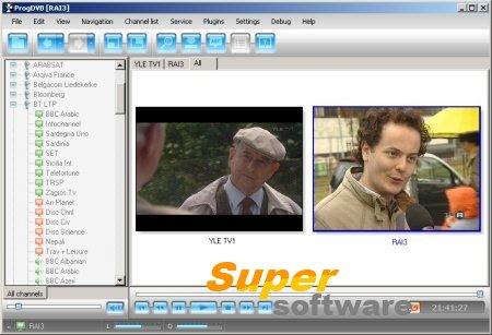 Скриншот ProgDVB 7.17.7