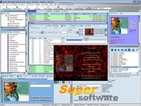 Скриншот Zortam Mp3 Media Studio Standart 21.60