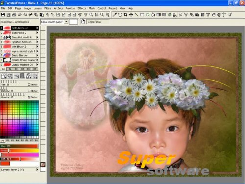 Скриншот TwistedBrush Open Studio 17.24