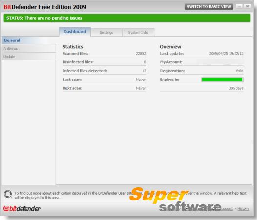 Скриншот BitDefender Free Edition 1.0.6.12