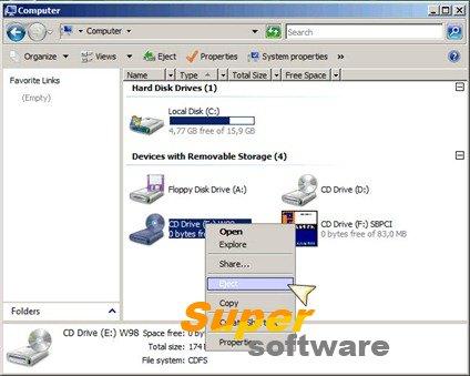Скриншот WinCDEmu 4.1