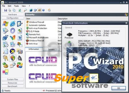 Скриншот PC Wizard 2014 2.13