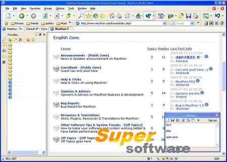 Скриншот Maxthon 5.0.2.1000