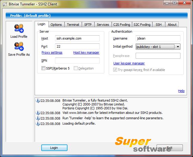 Скриншот Tunnelier 4.40