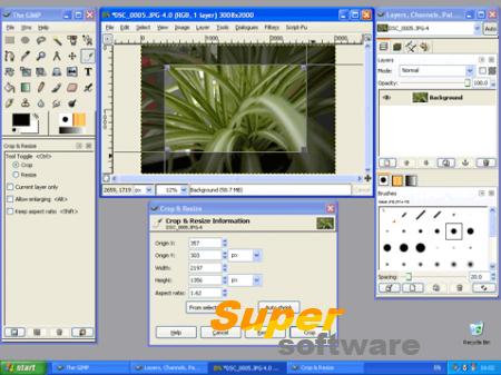 Скриншот The Gimp 2.8.18