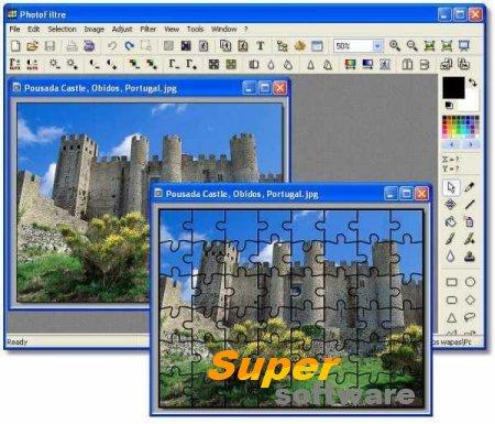 Скриншот PhotoFiltre 7.2.1