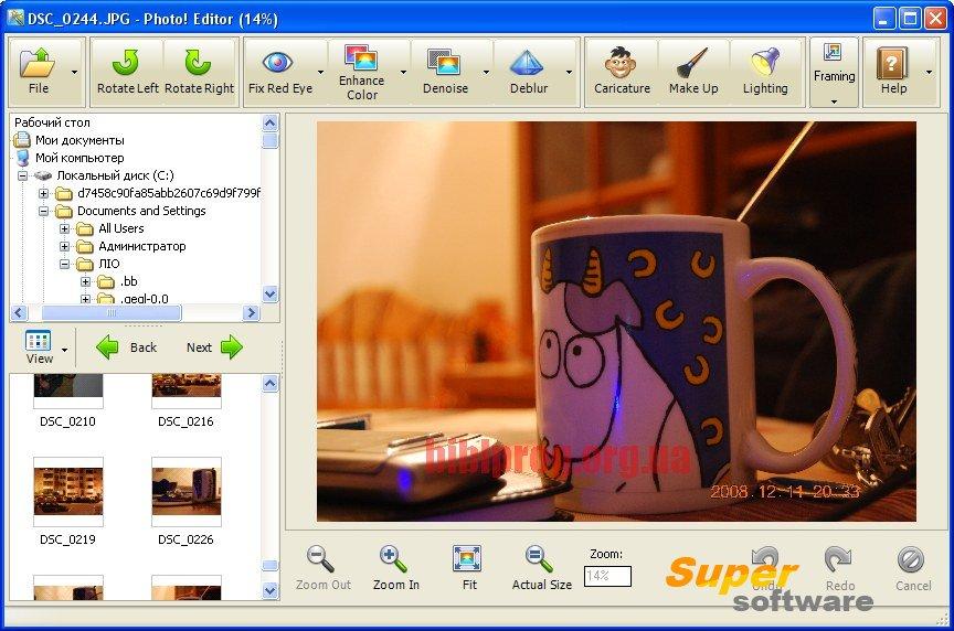 Скриншот Photo! Editor 1.1