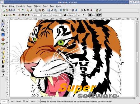 Скриншот Inkscape 0.92.1 r15371