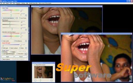 Скриншот LightBox Free Image Editor 2.0