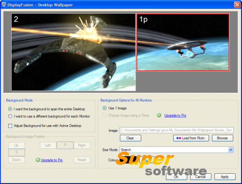 Скриншот DisplayFusion 7.3.4
