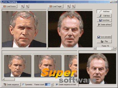 Скриншот Free Morphing 2.1