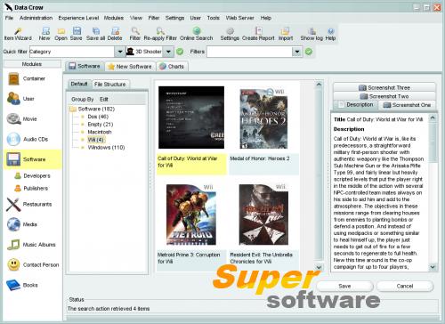 Скриншот Data Crow 4.2.0
