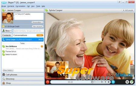 Скриншот Skype 7.37.32.103