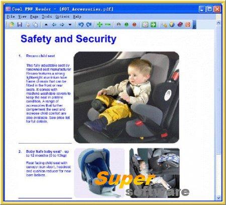 Скриншот Cool PDF Reader 3.2.1.322