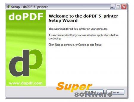 Скриншот doPDF 9.0 Build 218