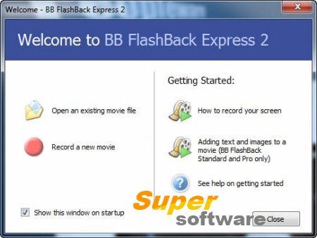 Скриншот BB FlashBack Express 5.7.0.3619 RU / 5.14.0.3935 EN