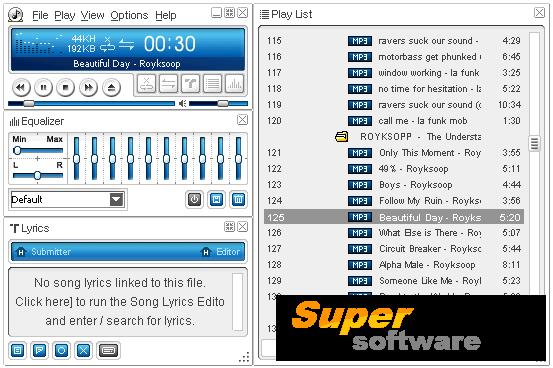 Скриншот ALSong 2.71.0.4