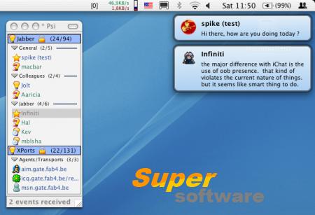 Скриншот Growl 2.0.9