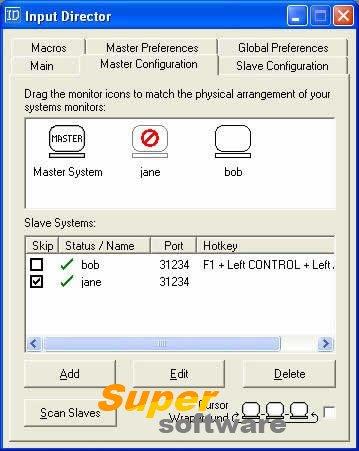 Скриншот Input Director 1.2.2.76