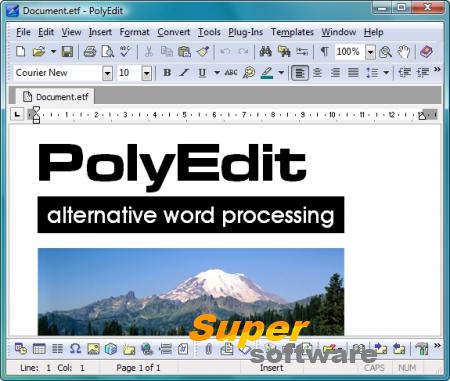 Скриншот PolyEdit Lite 5.4.0.0