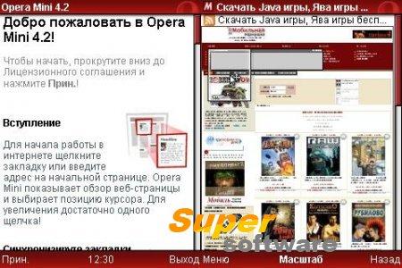 Скриншот Opera Mini 6.5