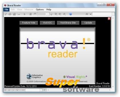 Скриншот Brava! Reader 7.4.0.1