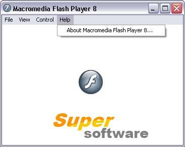 �������� Macromedia Flash Player 8.5 b133 RU