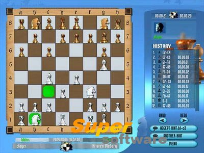 Скриншот Шахматы для Профессионалов 1.34