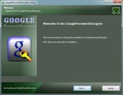 GooglePasswordDecryptor 3.1