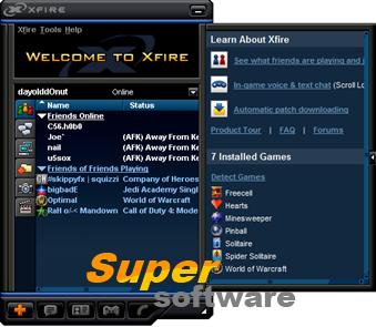 Скриншот Xfire 2.43.729