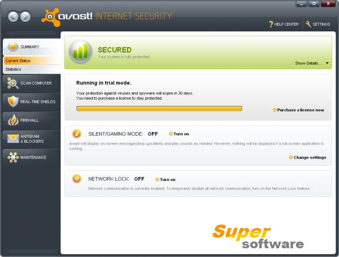 Скриншот Avast! Internet Security 17.5.2303
