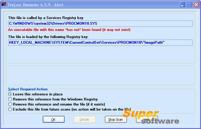 Скриншот Trojan Remover 6.9.3