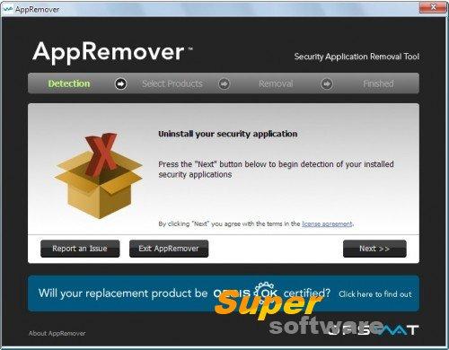 Скриншот AppRemover 3.1.24.1