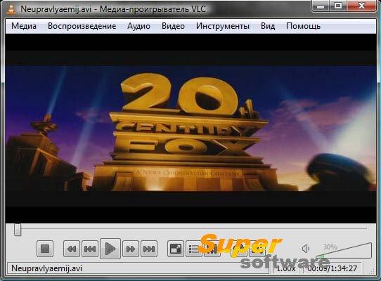 Скриншот VLC Media Player 2.2.6