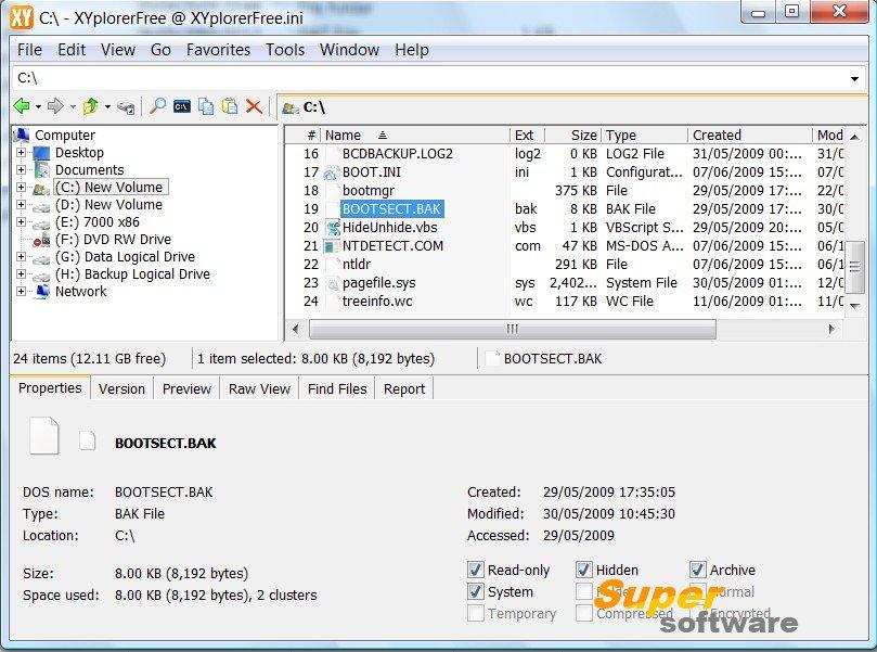 Скриншот XYplorer 18.20.0200 / 17.40.0100 Free