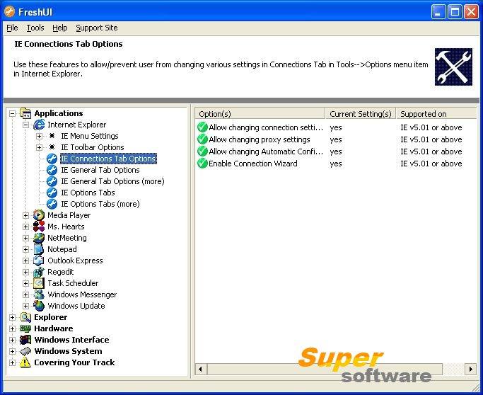 Скриншот Fresh UI 8.82