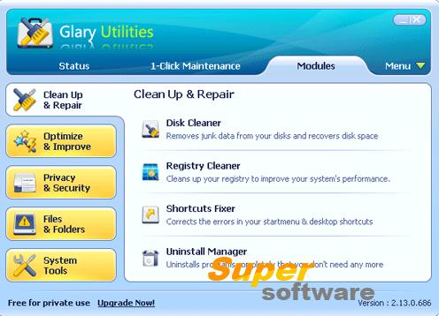 Скриншот Glary Utilities 5.74.0.95