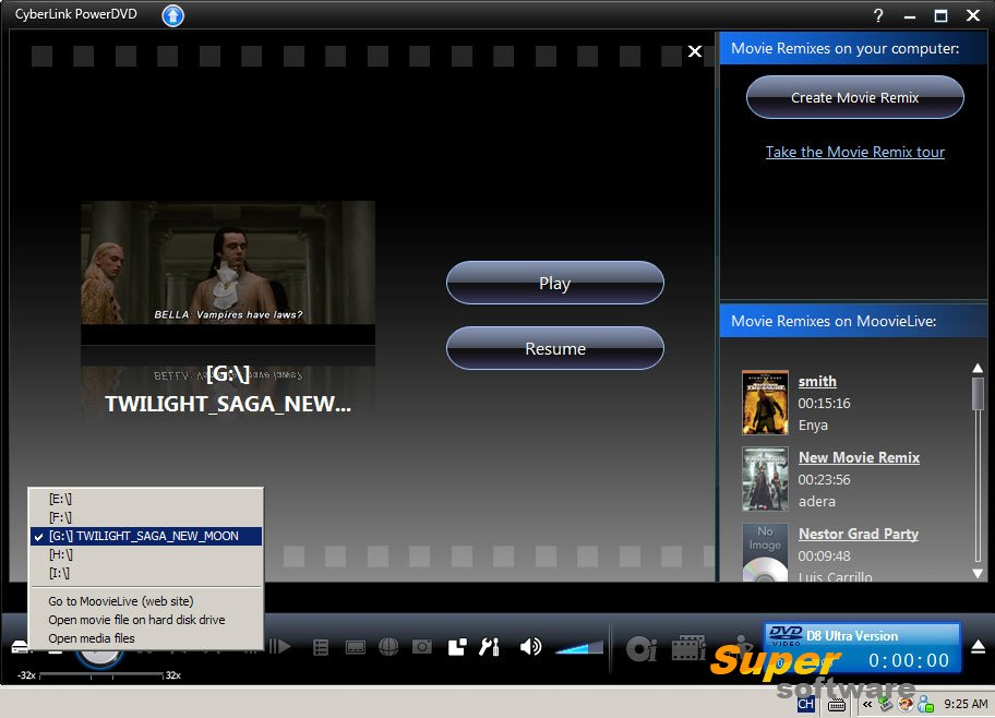 Скриншот DVDFab Virtual Drive 1.5.1.1