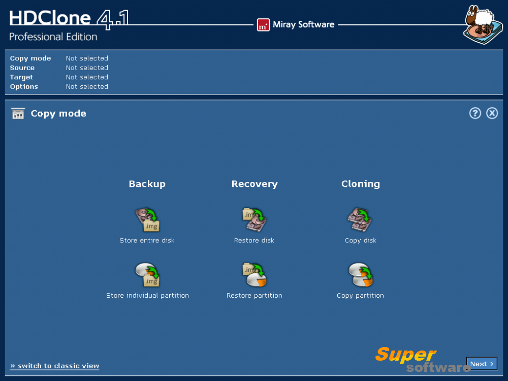 Скриншот HDClone Free Edition 6.0.5
