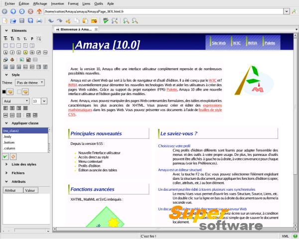 Скриншот Amaya 11.4.7