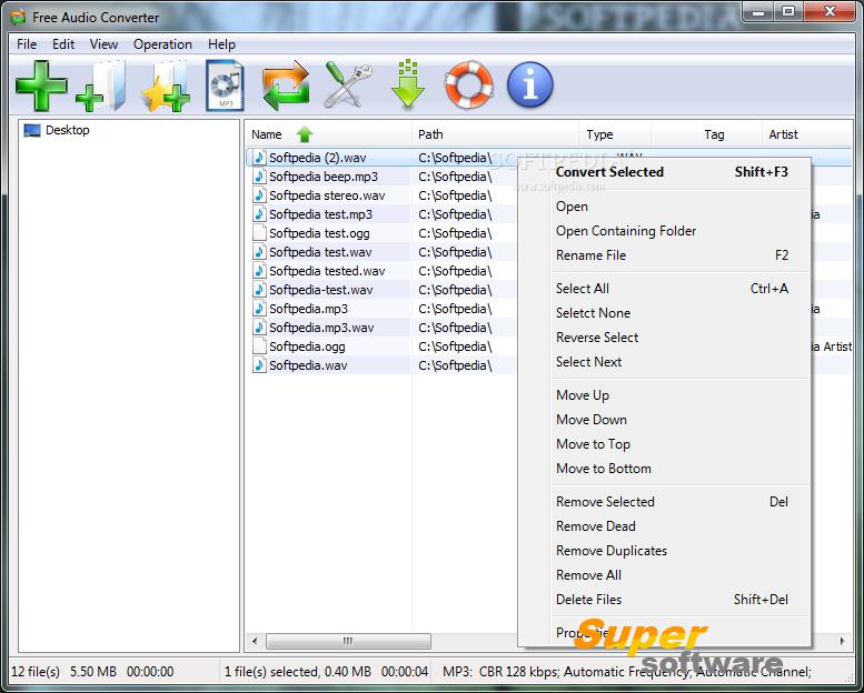 Скриншот Free Audio Converter 7.6.0