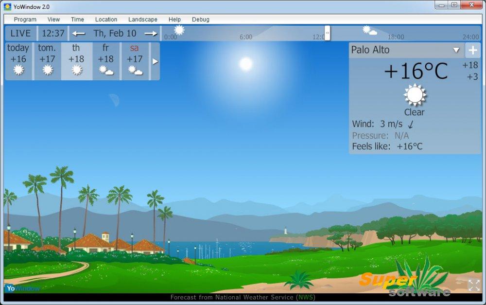 Скриншот YoWindow 4.0.102