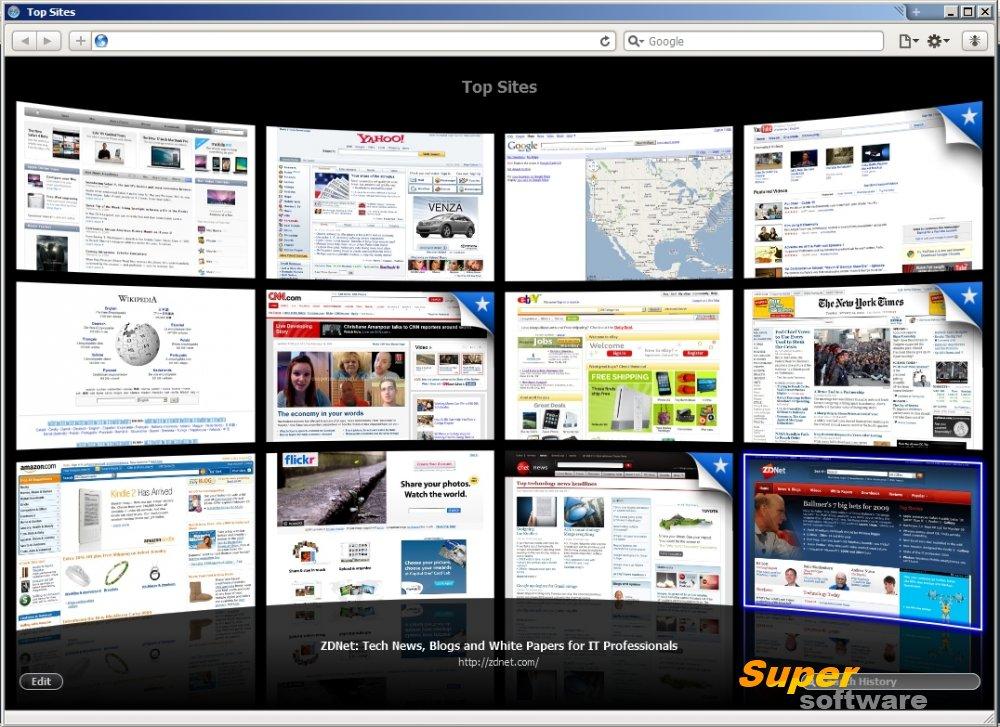 Скриншот Apple Safari 5.1.7