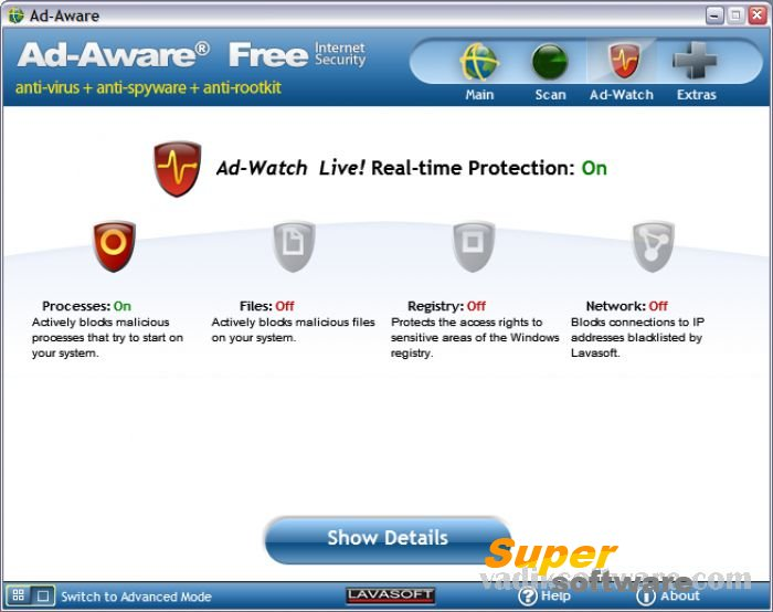 Скриншот Ad-Aware Internet Security Free 9.6