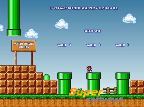 Скриншот Super Mario Bros 3: Mario Forever 5.103