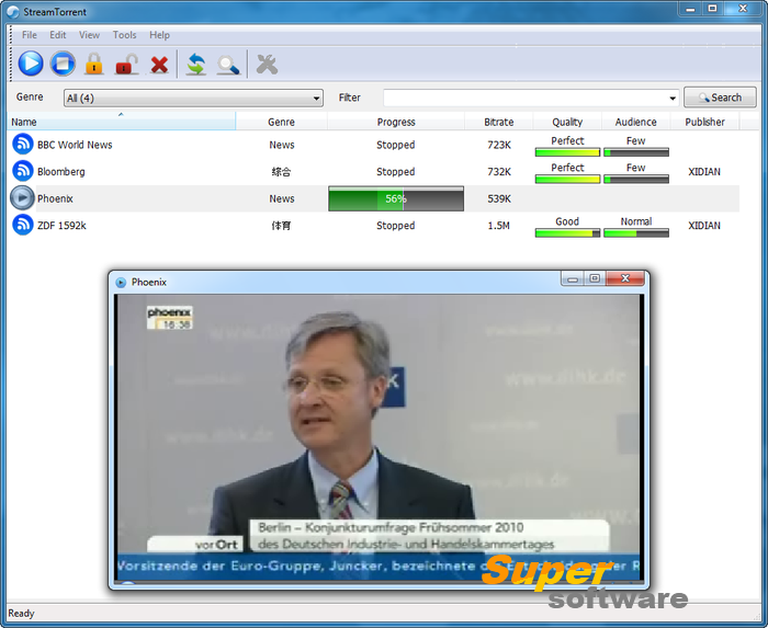 Скриншот Stream Torrent 1.0 Build 0078