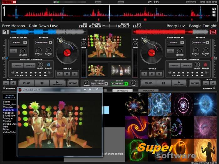 Скриншот Virtual DJ Home Free Edition 8.2.3798