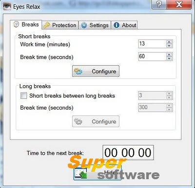 Скриншот Eyes Relax 0.86