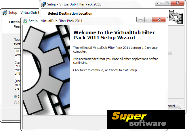 Скриншот VirtualDub Filter Pack 2011 1.0.0.6