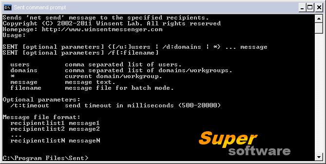 Скриншот Sent 1.3.8